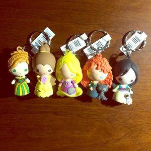 Disney Princess Keychains